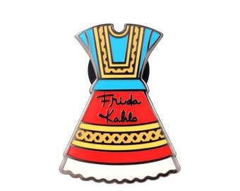 Frida's Dress Lapel Pin