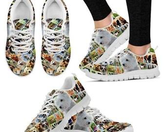 Lovely West Highland White Terrier Print-Running Shoes For Women