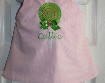 Girls Lollypop Dress Size 6mo to 5T