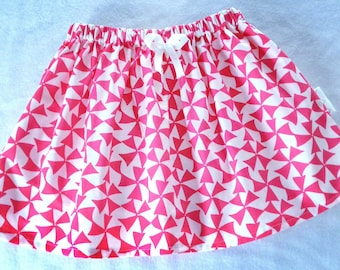 Girls skirt, Toddler Skirt, Baby Skirt, Twirl Skirt, Children's Skirt, Pinwheel