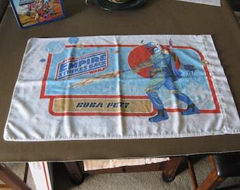 Star Wars Empire Strikes Back Pillowcase 1980 Darth Vader Boba Fett