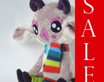 Eclair the Little White Goat Large Plush Doll