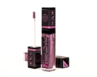 Royal Orchid Lip Glitz - Mineral Lip Gloss - All Natural Lip Tint