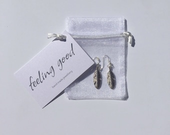 Feather earings