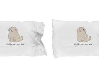 World's Best Mom and Dad Pillowcase Set