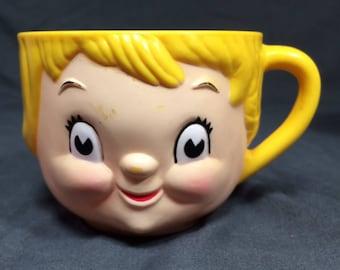 Dolly Dingle Kid Campbell's plastic mug.