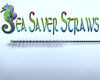 Straw Cleaning Brush for Reusable Drinking Straws - by SeaSaver Straws