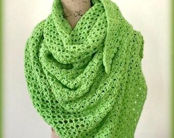 Cloria Wrap Crochet Pattern PDF 250