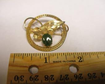 Gold Filled BURT CASSEL Brooch (902)