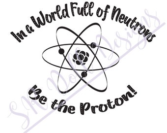 In a World Full of Neutrons be the Proton