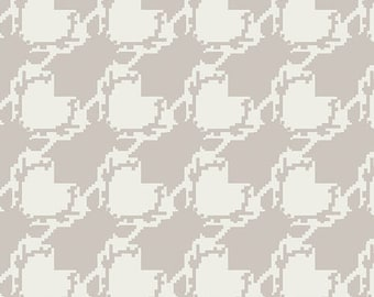 1/2 yard Art Gallery Blithe Deer Houndstooth in Fair 75604 designed by Katarina Roccella