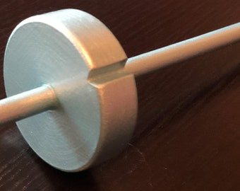 Ice Blue Drop Spindle