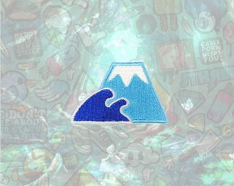 Fuji Mountain Patch Cute Patch Iron on Patch Sew On Patches