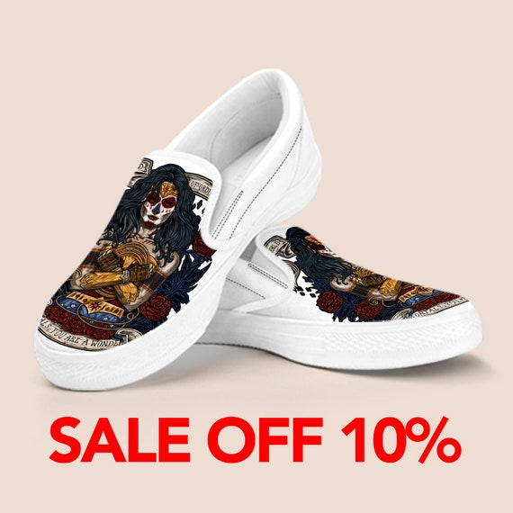 Shoes America Shoes Marvel America Custom Shoes Shoes Custom Captain Woman Superhero Woman Wonder Wonder Custom Vans Wonder Woman Shoes Z7gZqnTrz