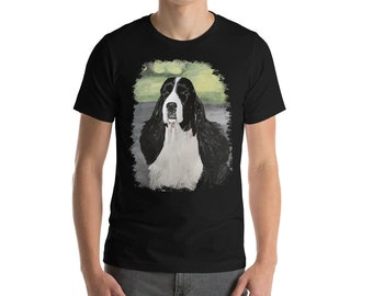 English Springer Spaniel Short-Sleeve Unisex T-Shirt