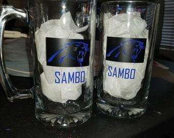 Panthers Beer Mugs