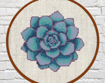 Cross stitch pattern modern Cross stitch pattern Succulent cross stitch pattern Modern cross stitch pattern Cross stitch Modern embroidery