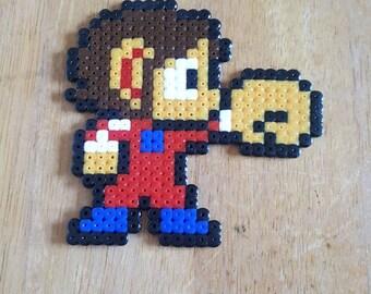 Alex Kidd Pixel Bead Art