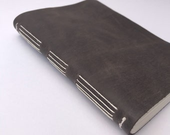 Sojourner handmade leather journal