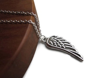 Angel Wing necklace, Angel jewellery, Guardian angel jewellery, memory necklace, Remembrance, Silver Angel Wing pendant necklace,