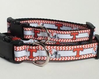 SALE University of Tennessee Dog Collar