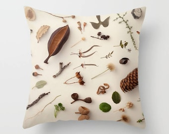 Beige Pillow, Beige Cushion, Pillow Covers 16 x 16, Pillow Covers 18 x 18, Throw Pillow Case, Decorative Pillow For Couch, Art Print Cushion