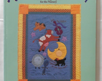Baby Quilt Book-Applique for Baby by Terrece Beesley and Trice Boerans - 20 charming nursery projects (cow jump over moon) -  Book  (#1460)