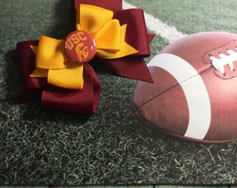 USC Trojan Head Bow (Free Shipping in US)