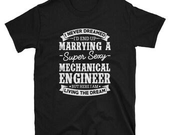 Mechanical Engineer's Wife Shirt Gift T-Shirts