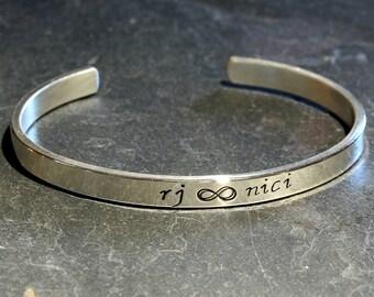 Infinity Bracelet in Sterling Silver to Celebrate Everlasting Love – 925 BR5793