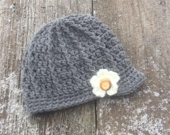 Pick Your Own - Newsboy Hat - Brim Hat, Any size, pick your colour, baby, girl, toddler, child, adult