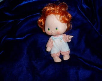 Vintage 1979 Apple Dumpling Doll  STAWBERRY SHORCAKE friend