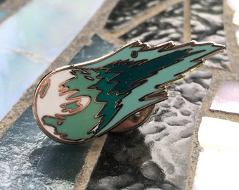Final Fantasy 7 Meteor Enamel Pin