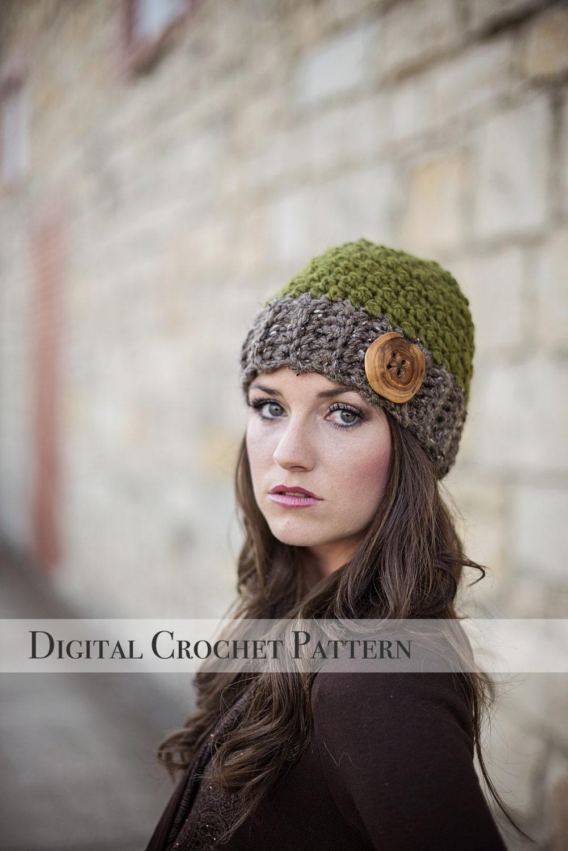 Crochet Pattern / Hat Pattern / The Jack and Jill Beanie Hat Pattern ...