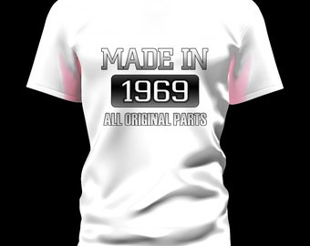 Made In ( Your Year and Color) All Original Parts