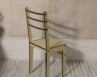 1/4 Size Doll Chair