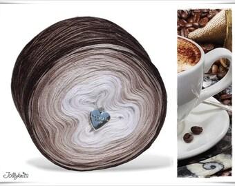 Gradient Yarn Merino Latte Macchiato 750m