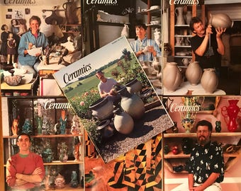 Ceramics Monthly Magazines - 7 issues from 1994