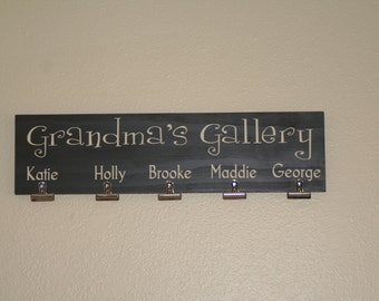 Grandma, Mom Personalized Sign