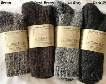 All Terrain Alpaca Socks