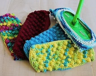 Crochet Swiffer Cover, Reusable Swiffer Pad