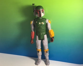 "1979 KENNER BOBA FETT Star Wars Empire Strikes back 12 inch action figure 12"" Bounty Hunter vintage toy"