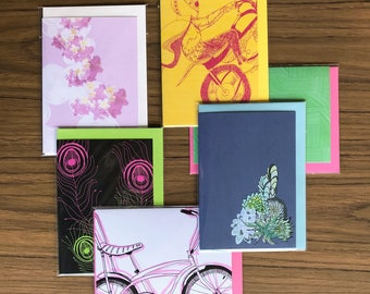 Assorted Six Greeting Cards deal for those who love to give gifts and mark special occasions with a greeting card Pack No 52