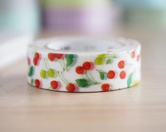 MT ex 2016 S/S Japanese Washi Masking Tape - Cherries for packaging, party deco, invitation