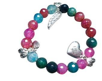 Colorful Agate beads
