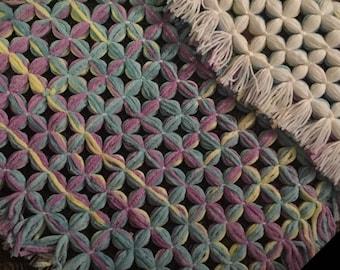 Handmade wool baby blankets