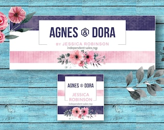 Agnes And Dora Facebook Set * Facebook Cover * Facebook Banner * Facebook Group * Facebook Photo Images * A&D FB Cover -ADSBN01