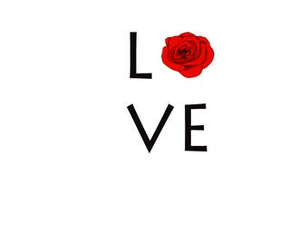 Love. Digital Download ready for print.