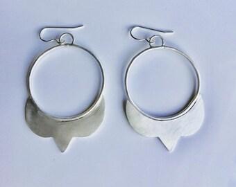 Sterling Silver Taj Mahal Earrings