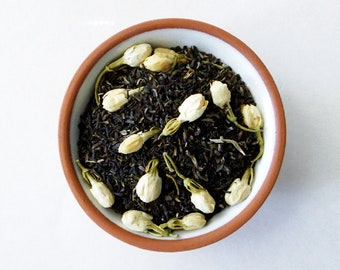 Zen Meditation Loose Tea - Jasmine Tea, Jasmine Flowers, Herbal Tea